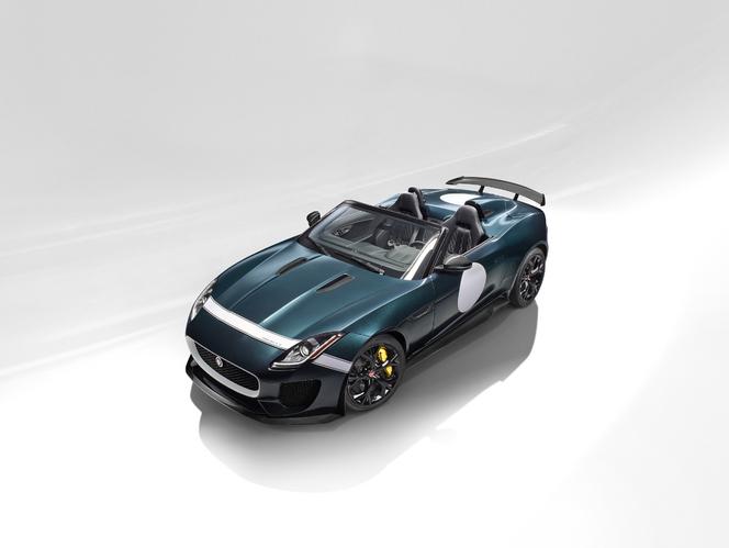 L'exclusive nouvelle Jaguar F-Type Project 7 en vidéo