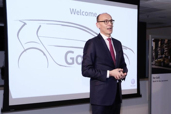Volkswagen: la Golf 8 annoncée pour juin2019
