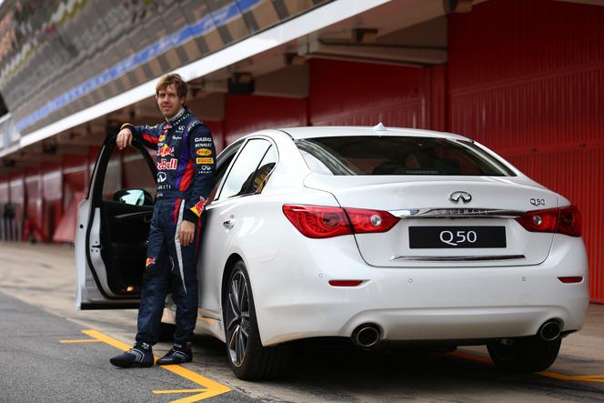 Infiniti nomme Sebastian Vettel au poste de directeur de la performance!