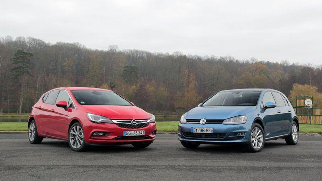 Comparatif vidéo - Opel Astra vs Volkswagen Golf : modernité contre classicisme