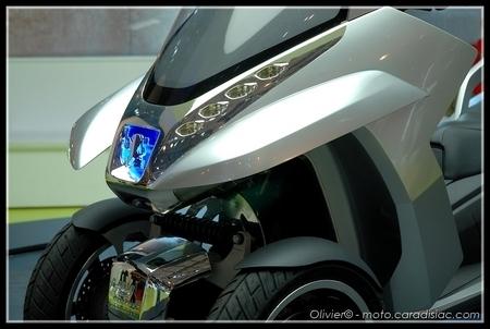 Peugeot présente l'HyMotion 3 Compressor au Mondial de l'Auto