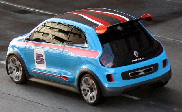 Surprise : la future Renault Twingo s'echappe
