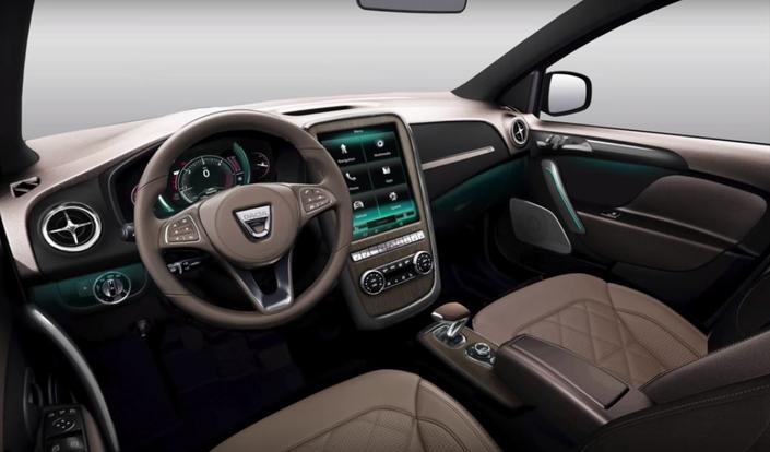 Un graphiste imagine une Dacia Logan de luxe