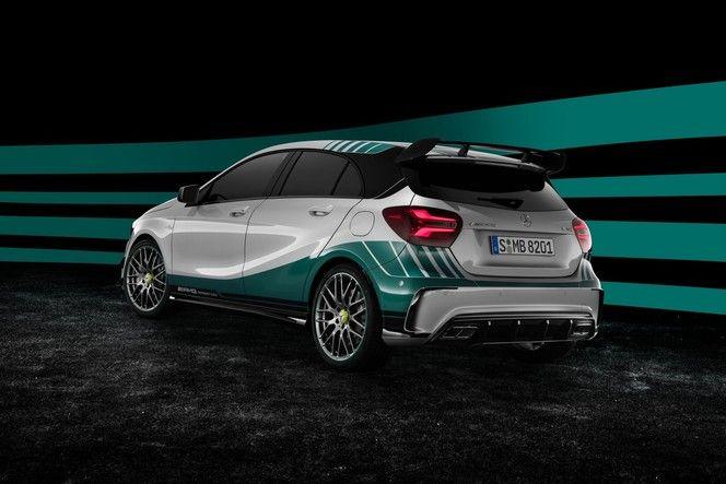 Mercedes A45 AMG Petronas : pour fêter le titre en F1
