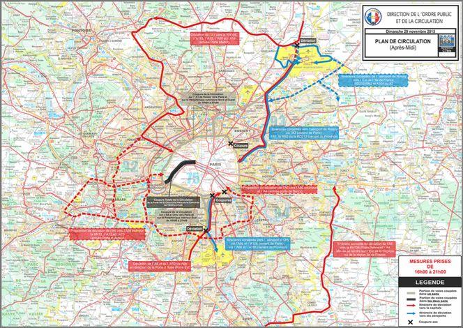 COP21: comment circuler en Île-de-France les 29 et 30 novembre
