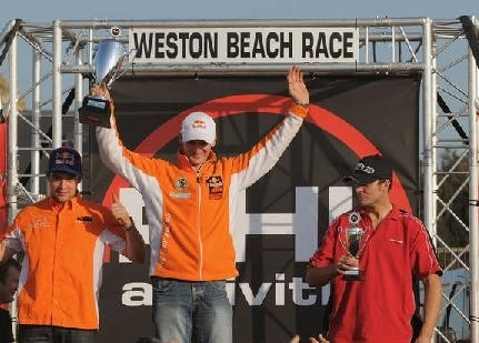 Everts gagne la Weston Beach Race