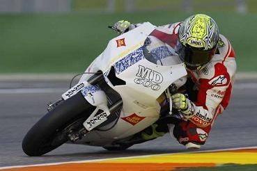 Moto GP - Test Valence: Toni Elias fait connaissance avec une Moto 2