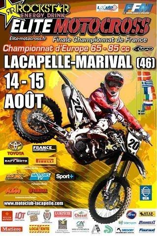 Motocross : Finale du championnat de France Elite à Lacapelle Marival dimanche