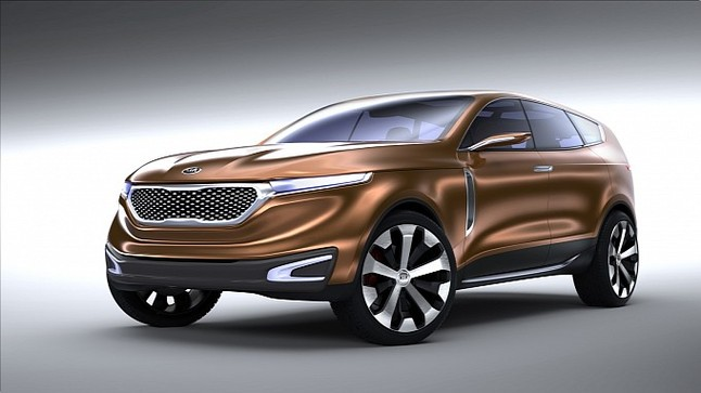 concept kia cross gt un suv haut de gamme venir. Black Bedroom Furniture Sets. Home Design Ideas