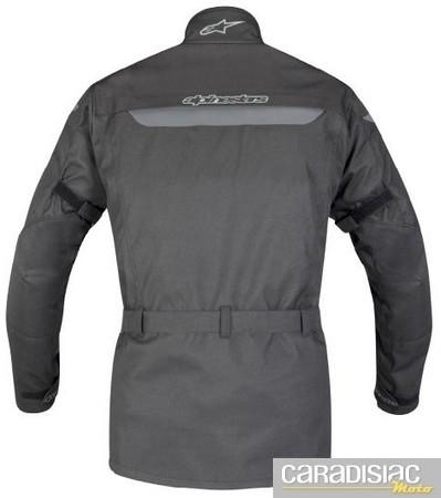 Nouveauté 2011: la veste 4 saisons Alpinestars Köln Drystar®.