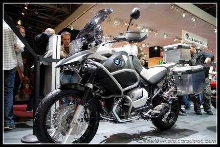 La moto s'expose aussi au Mondial de l'Auto