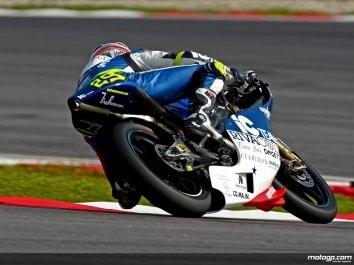 GP125 - Malaisie: Iannone se place pour sa première pole