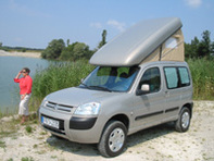 Transformez votre utilitaire compact en mini camping-car