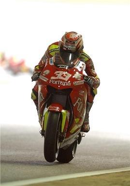 Moto GP: Gresini a vaincu Ducati et garde Melandri