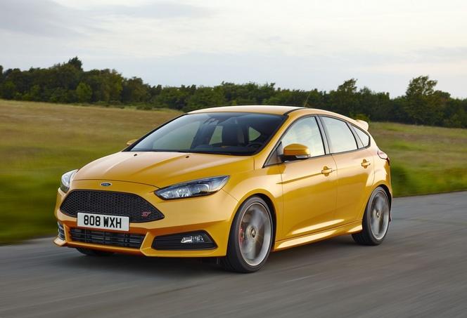 Voici la Ford Focus ST restylée
