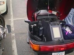 Honda Pacific Coast: L'éclaireur