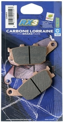Carbone Lorraine A3+ ET RX3... en plus, ces plaquettes sont écolos