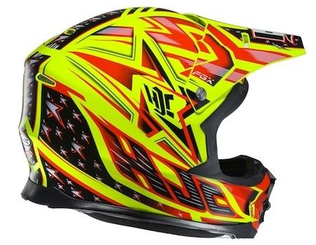 HJC FG-X: de la couleur avec le Tow