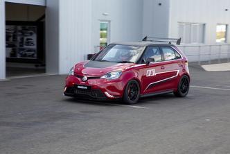 MG dévoile la MG3 Trophy Championship concept