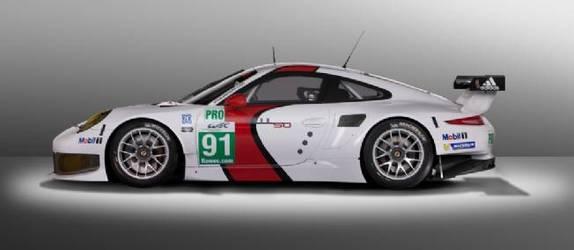 Voici la nouvelle Porsche 911 RSR