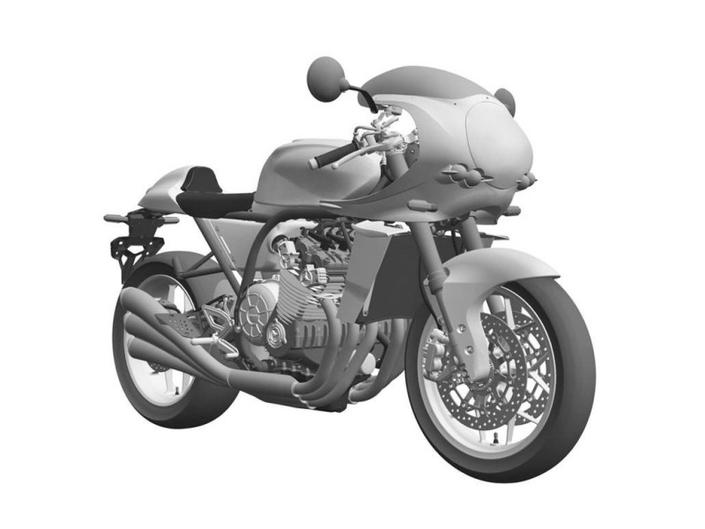 Nouveauté - Honda: le néorétro six cylindres passent les brevets