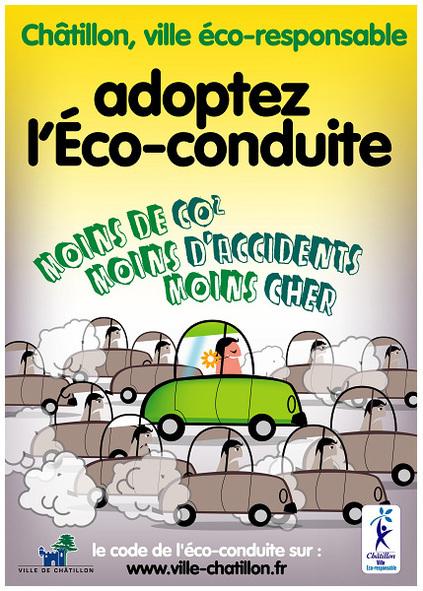 Reportage : la Ville de Châtillon prône l'éco-conduite