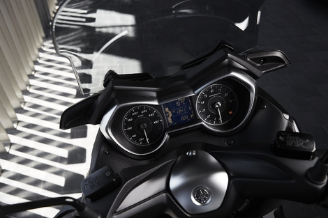 Essai Yamaha XMax 300 Iron Max