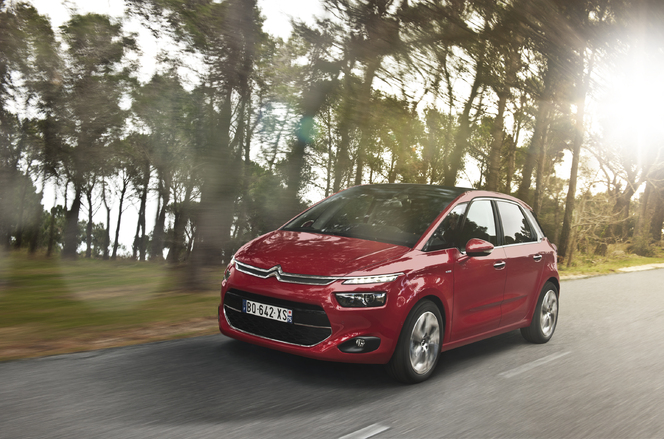 Le Citroën C4 Picasso s'officialise