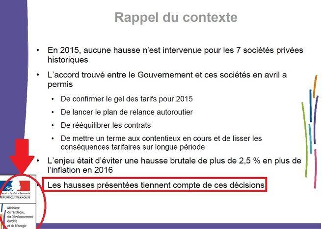 Péages - Autoroutes : la hausse des tarifs dès 2016 depuis longtemps annoncée !