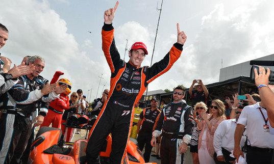 IndyCar/Houston - Pagenaud vainqueur, deux top 5 pour Bourdais