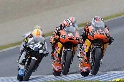 GP250 - KTM: La marque serait restée jusqu'en 2014