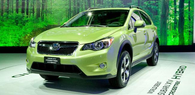 Salon de New York : le Subaru XV devient hybride