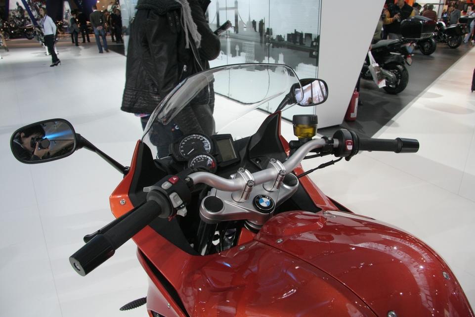 Actualité moto - En direct du Salon de Milan: La BMW F800GT ou le voyage tranquille