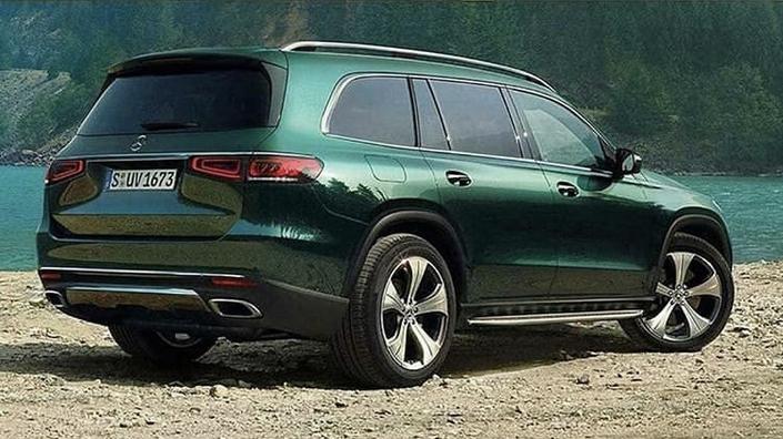 Mercedes: le nouveau GLS en avance, teaser pour le GLB Concept