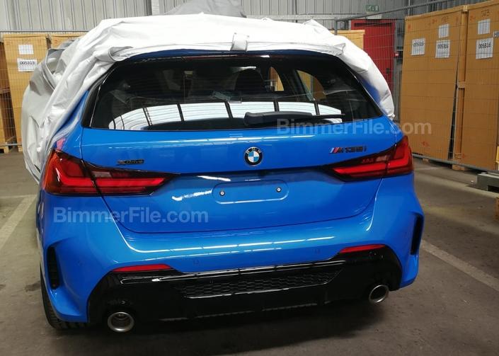 BMW: la nouvelle Série 1 vue sans camouflage