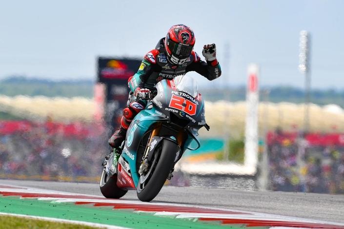 MotoGP - Austin J2: Quartararo toujours dans le coup