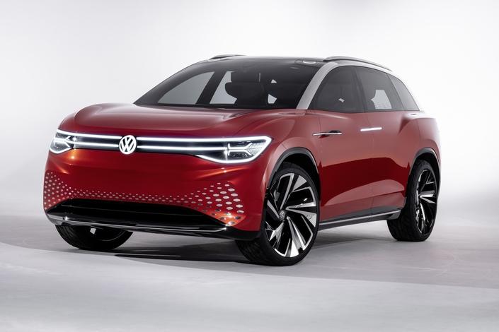 Salon de Shanghai 2019 - Volkswagen dévoile le concept ID Roomzz