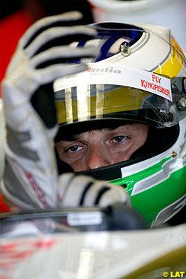 Formule 1 - Force India: Fisichella ne pense pas à la retraite
