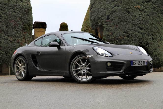 Porsche Cayman - En avant-première, les photos de l'essai