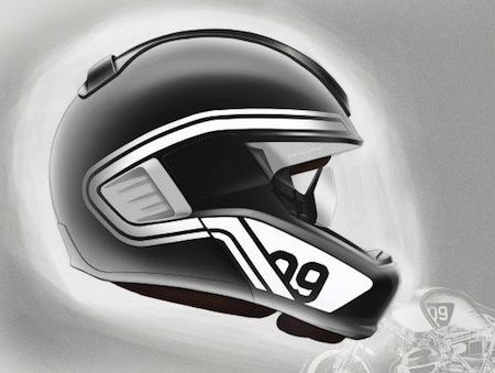 BMW Motorrad System 6 Evo Vision HUD avec afffichage tête haute...  pour bientôt?