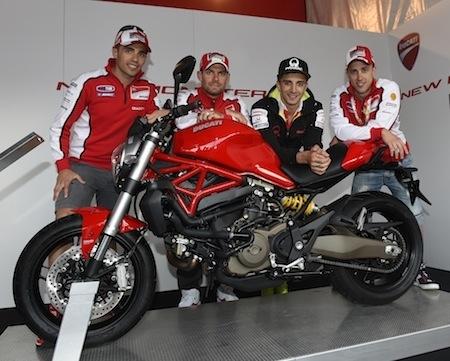 Ducati: le Monster 821 mis à l'honneur