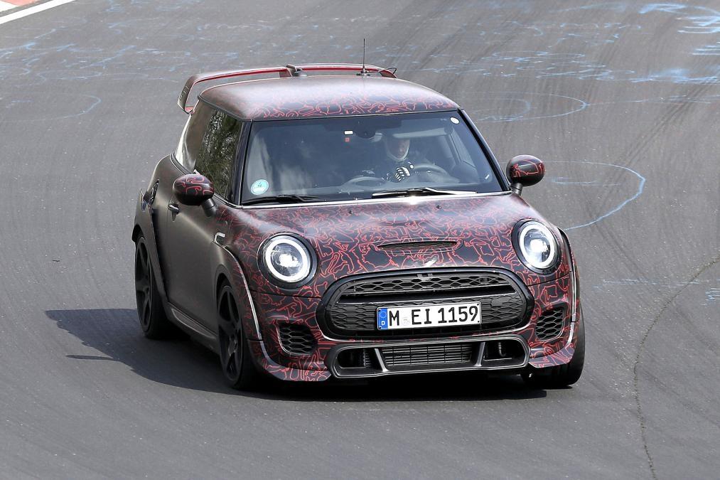 La Mini Jcw Gp En Fin De Préparation Sur Le Nürburgring