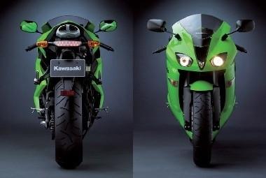Kawasaki ZX-6R : 2 en 1