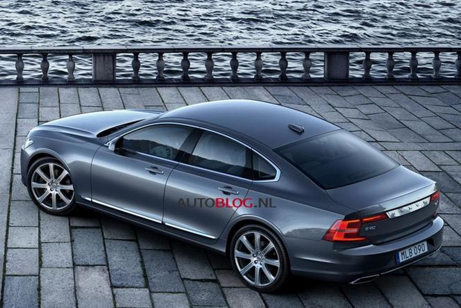 (MAJ Photos) Surprise : la Volvo S90 en avance