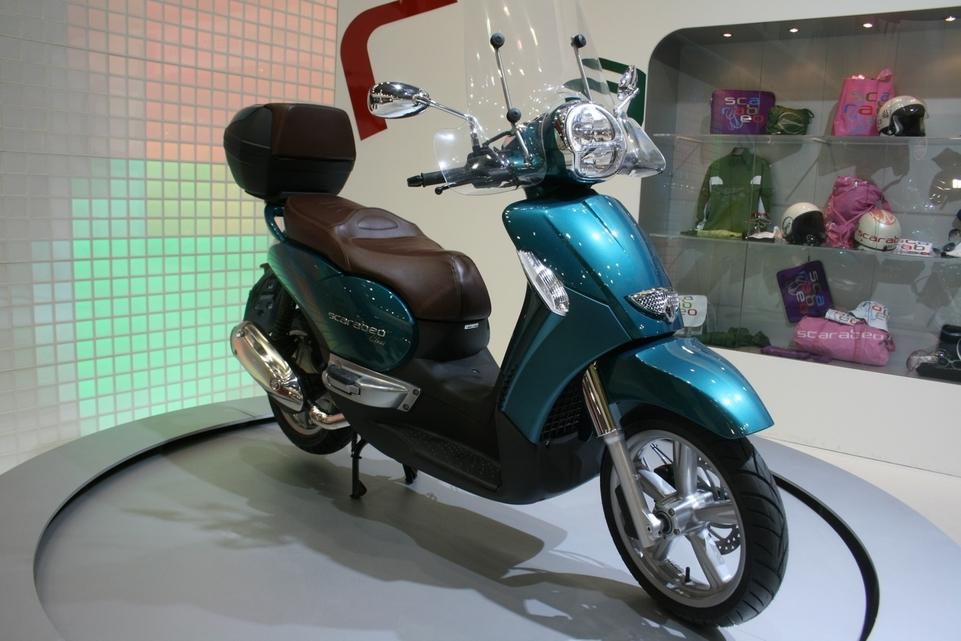 Salon de Milan 2009 en direct : Scarabeo 125 cm3 ie Class