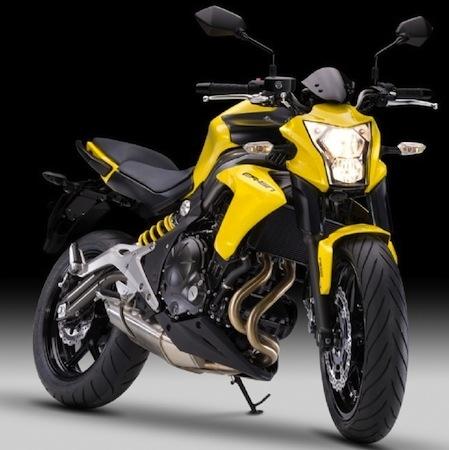 Kawasaki, nouveauté 2012: ER-6n