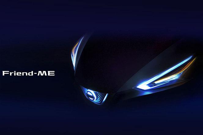 Shanghai 2013 : Nissan Friend-Me concept