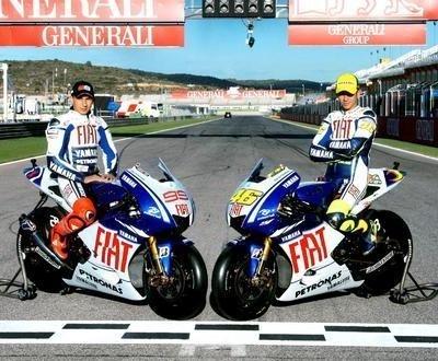 Moto GP - Yamaha: Lorenzo insiste sur l'âge de Rossi