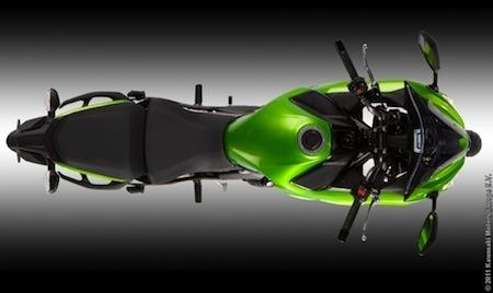 Kawasaki, nouveauté 2012: ER-6f