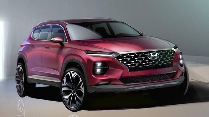 Salon de Genève 2018 - Hyundai annonce la présentation du nouveau Santa Fe